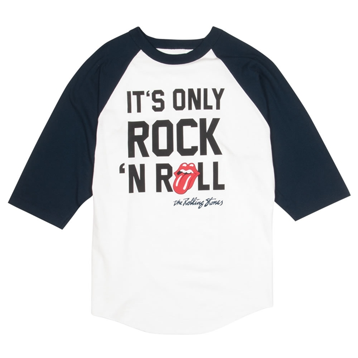 334e366f8 Rolling Stones It's Only Rock 'n' Roll Baseball Shirt at The Music Stand