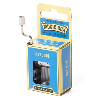 'Hey Jude' Crankshaft Mini Music Box