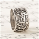 Sterling Silver Music Ring