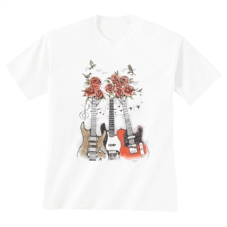Guitars & Roses Unisex T-Shirt