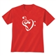 Heart of Clefs Clef T-Shirt