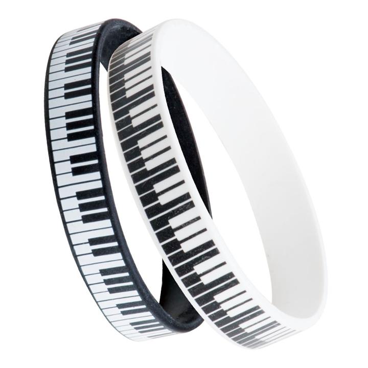 Silicone Keyboard Bracelets