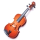 Wood Violin Magnet