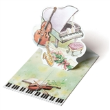 Music Hall Pop-Up Notecards