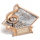 Diamond G-Clef Award Plaque