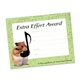 Extra Effort Mini Certificates