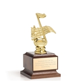 Wood Base Trophy