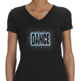 Sequins 'Dance' Women's T-Shirt