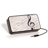 Sheet Music Portable Speaker