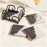 Piano Keys Tile Coasters
