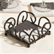 Wrought Iron Coasters Rack
