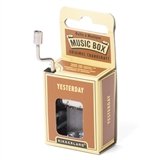 'Yesterday' Crankshaft Mini Music Box