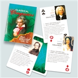 Classical Composers Playing Cards