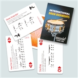 Drum Rudiments Playing Cards