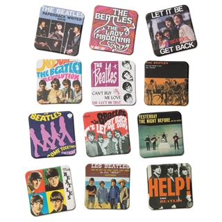 Beatles Singles Covers Fridge Magnets