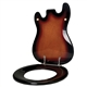 Electric Guitar Toilet Seat