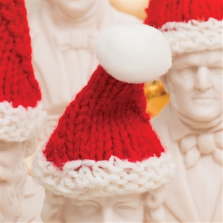 Mini Santa Hat for Composer Bust
