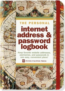 The Personal Internet Address and Password Logbook