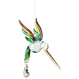 Song of the Hummingbird Glass Figurine