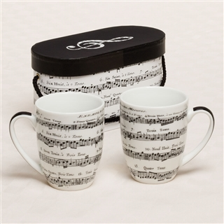 Adagio Coffee Mugs in Gift Box