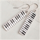 Piano Keys Earrings