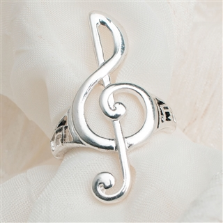 G-Clef Stretch Ring