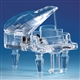 Crystal Grand Piano Music Box