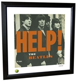 Beatles 'Help!' Framed Lithograph