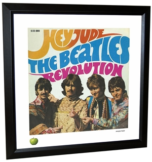 Beatles 'Hey Jude' Framed Lithograph