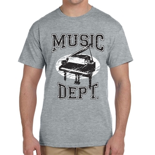 Music Dept. Piano T-Shirt
