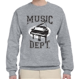 Music Dept. Piano Sweatshirt