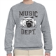 Music Dept. Drumset Sweatshirt