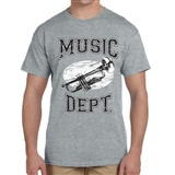 Music Dept. Trumpet T-Shirt