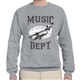 Music Dept. Trumpet Sweatshirt