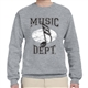 Music Dept. Music Note Sweatshirt