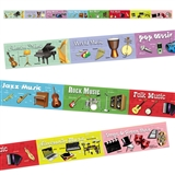 Reading Musical Notes Chalkboard Topper