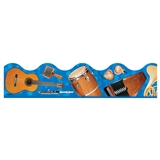 Musical Instruments Bulletin Board Trimmer