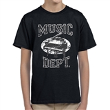 Music Dept. Piano Child's T-Shirt