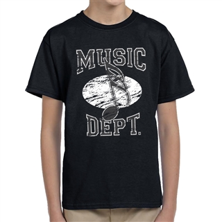 Music Dept. Music Note Child's T-Shirt