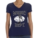 Music Dept. Music Note Ladies T-Shirt