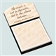 Mozart Quote Note Holder & Sticky Notes