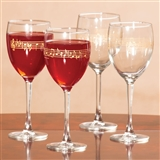 Music Score Wine Goblets, Set of 4