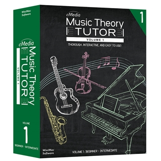 Interactive Music Theory Tutor Software - Vol. 1