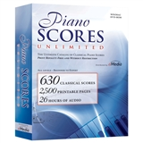 Piano Scores Unlimited Software