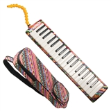 Hohner 37 Key Airboard Melodica - NEW STYLE IS BRIGHT COLORED KEYS ON BLACK