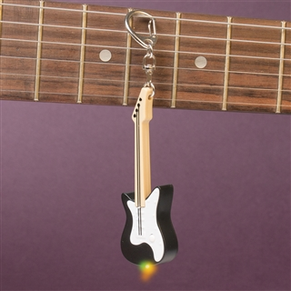 Guitar Keychain With Light & Sound