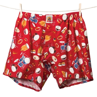 Red Hot Drums Boxer Shorts