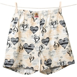 Women's Music Boxer Shorts