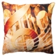 Golden Clef Linen-Finish Pillow