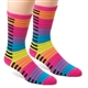 Bright Keyboard Men's Mid-Calf Socks